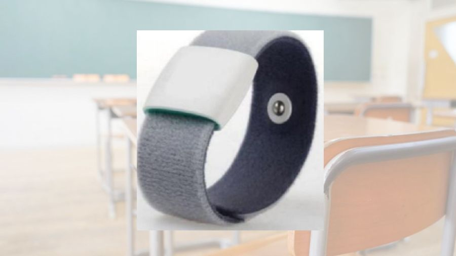 temperature armbands