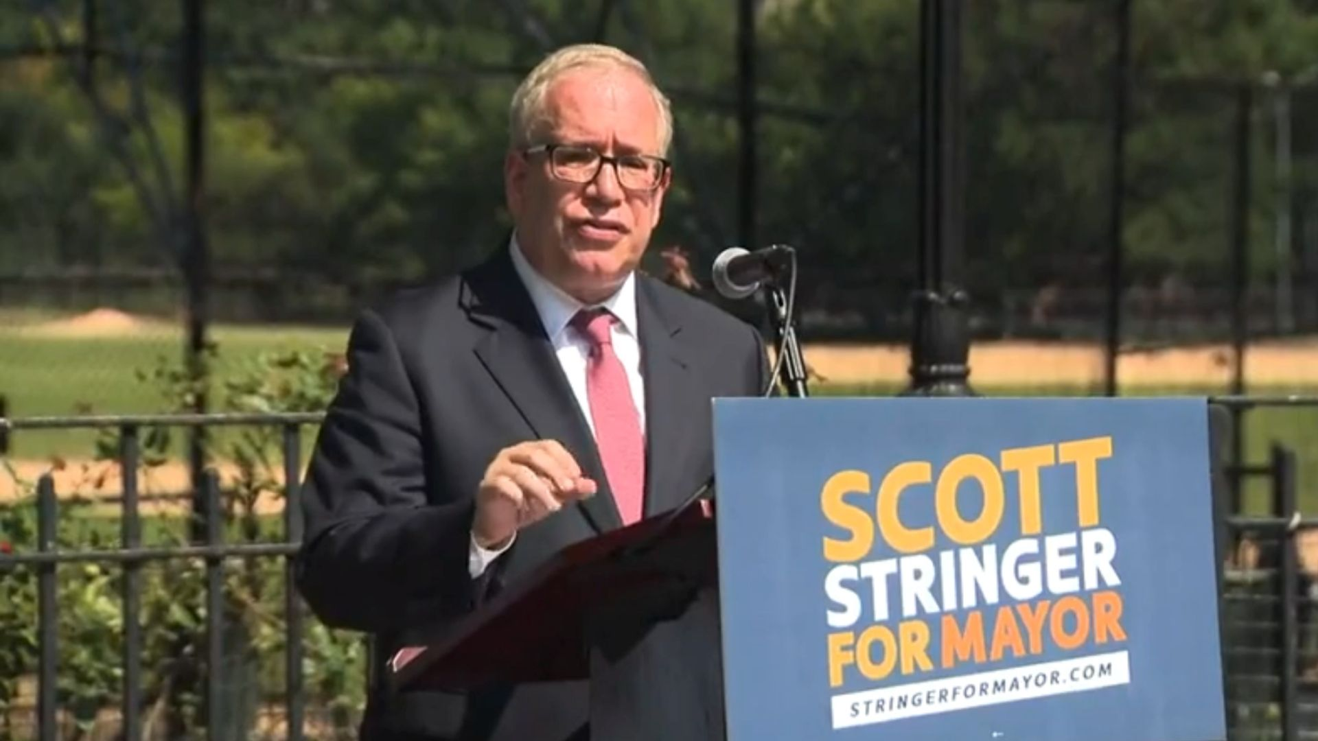 NYC Comptroller Scott Stringer announces mayoral run