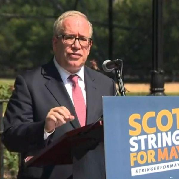 NYC Comptroller Scott Stringer announces mayoral run
