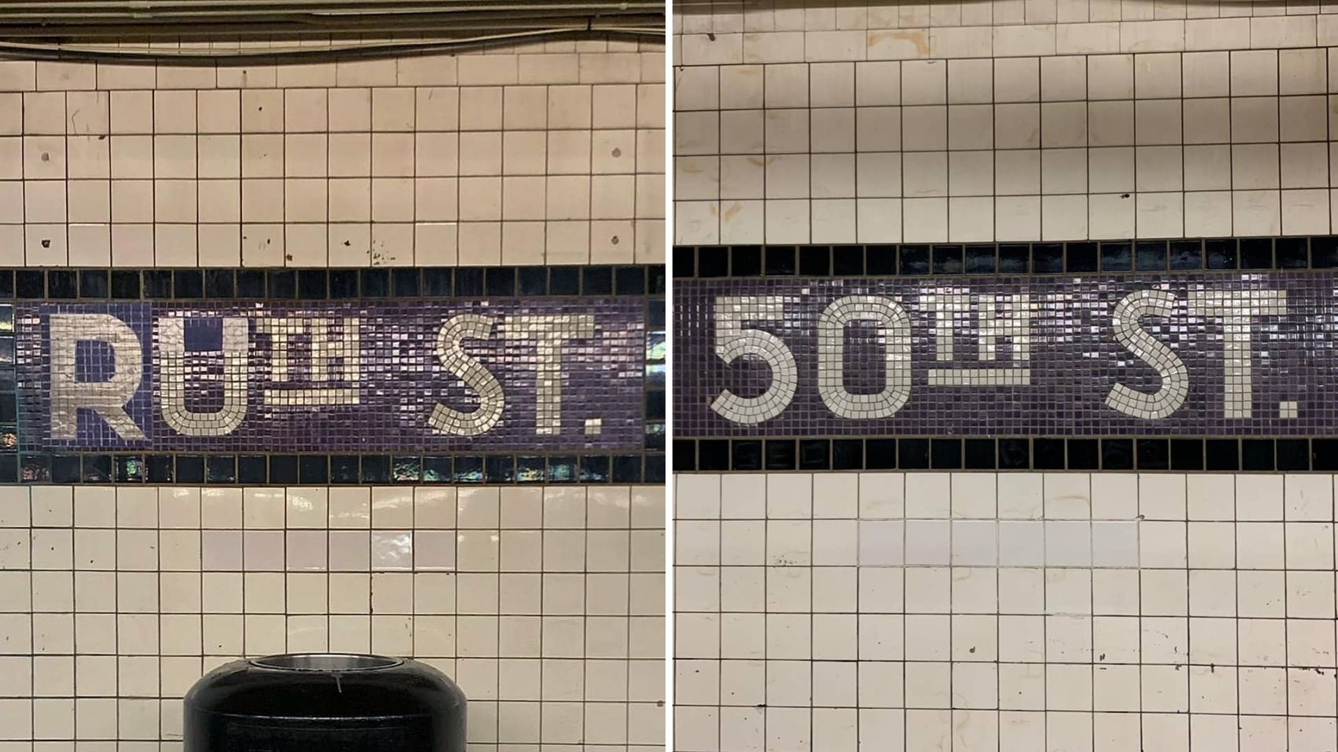 subway station renamed ruth street