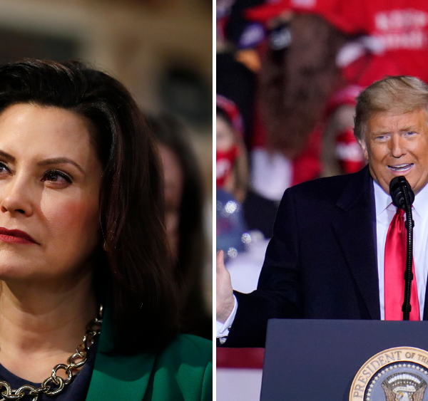 Trump claims Gov. Gretchen Whitmer 'wants to be a dictator in Michigan'
