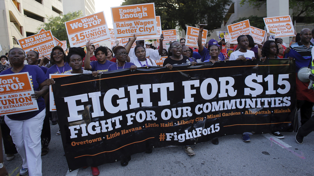 Voters in Florida approve amendment that increases minimum wage to $15 an hour