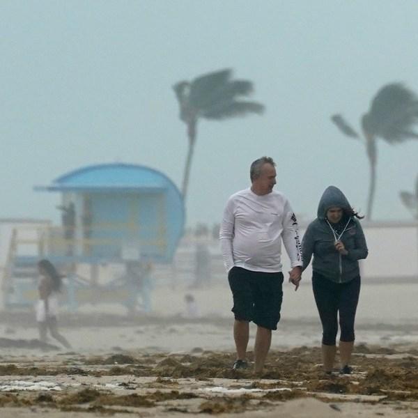 Already flooded, Florida feeling wrath of Eta as the tropical storm slowly progresses