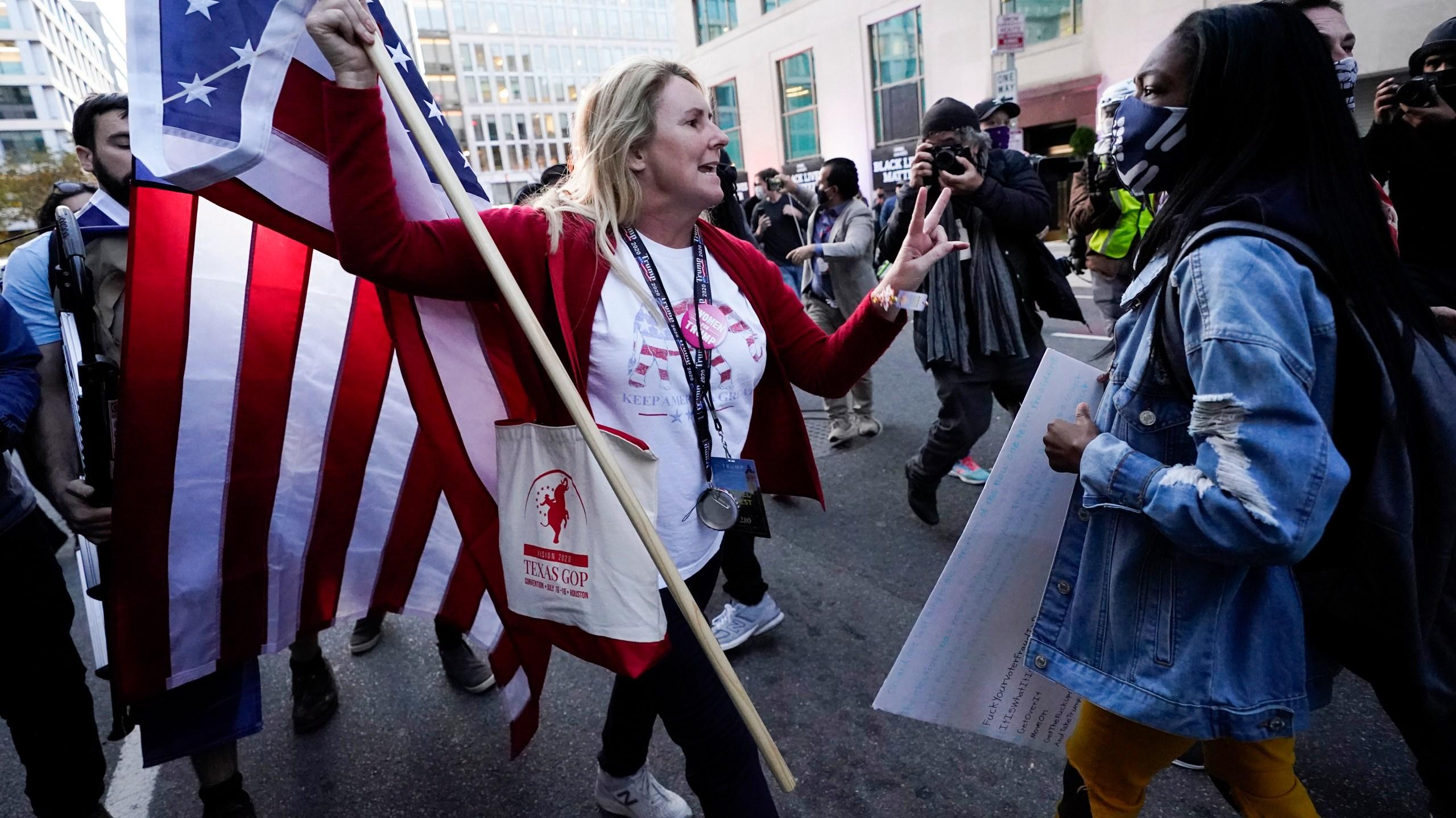 APTOPIX Election 2020 Protests Washington