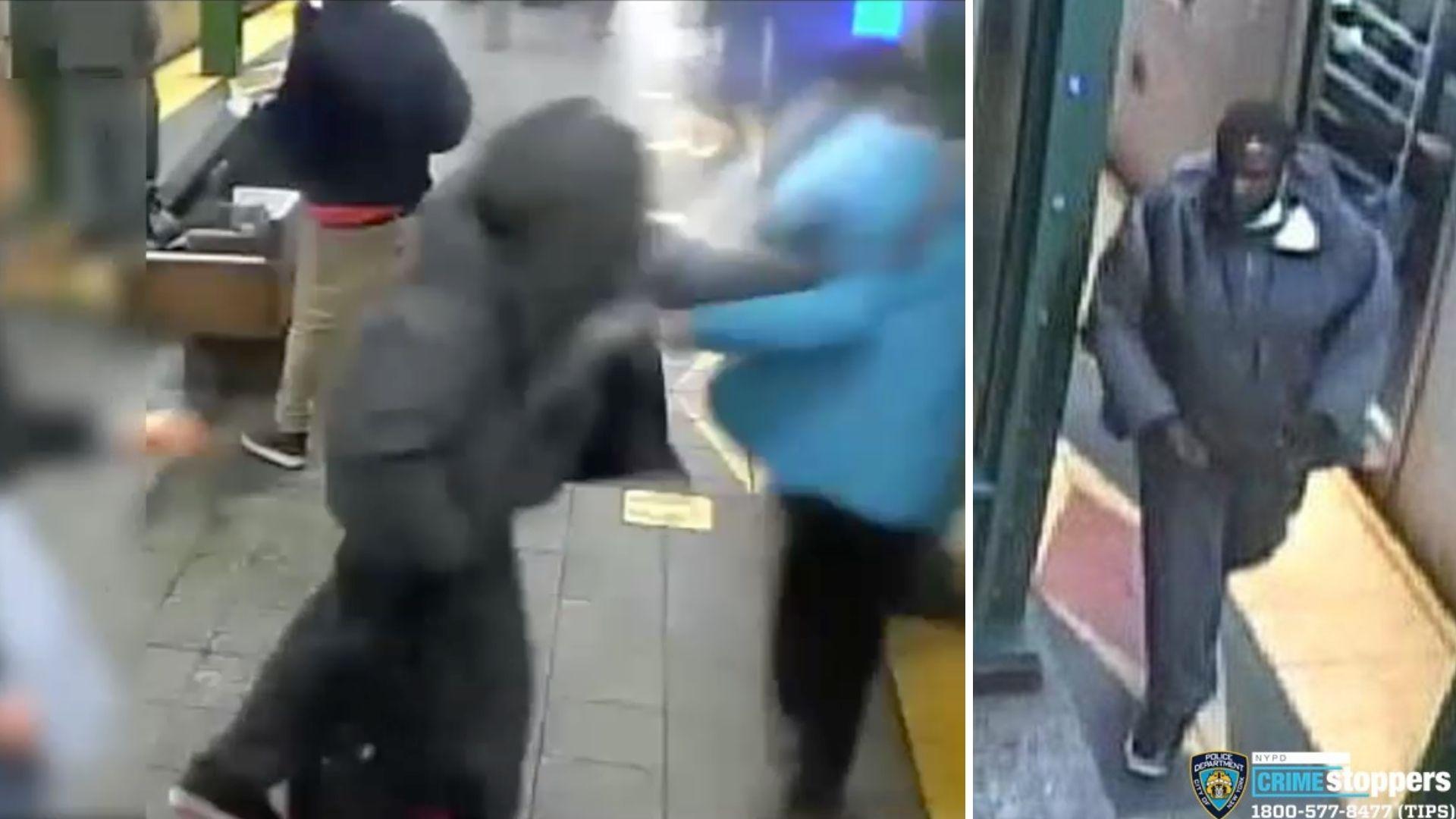 Man shoved onto subway tracks at Brooklyn station