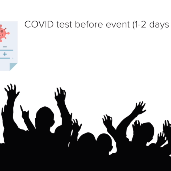 What in-person live events could look like with a COVID-19 vaccine