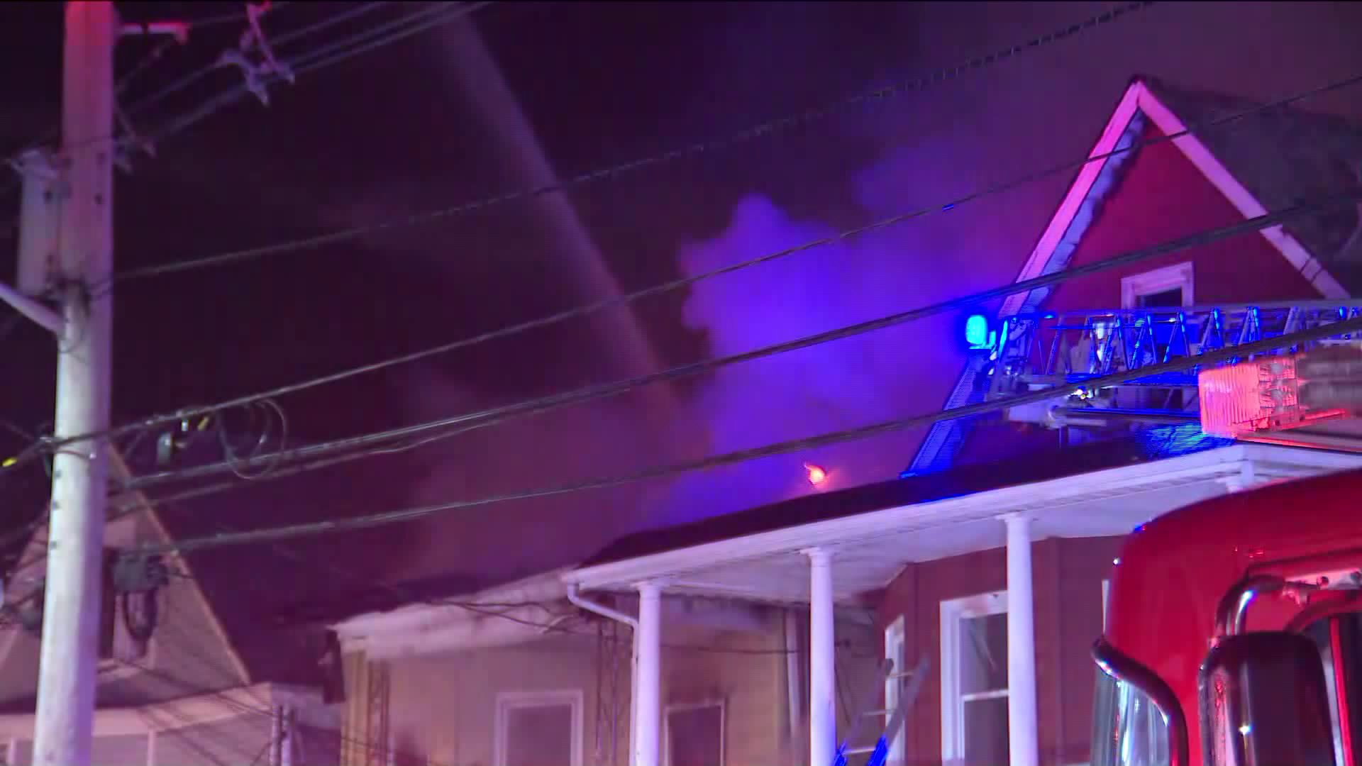 Passaic 3-alarm house fire in New Jersey