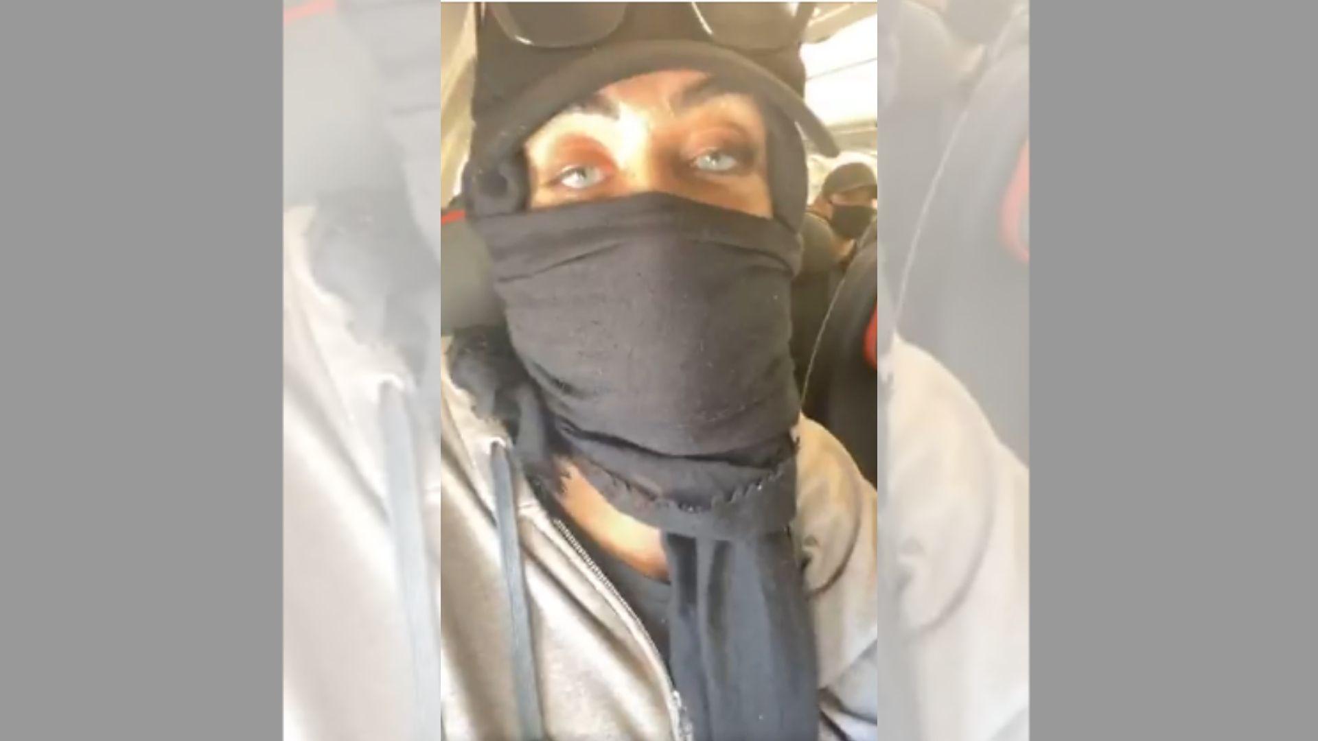 muslim woman newark airport