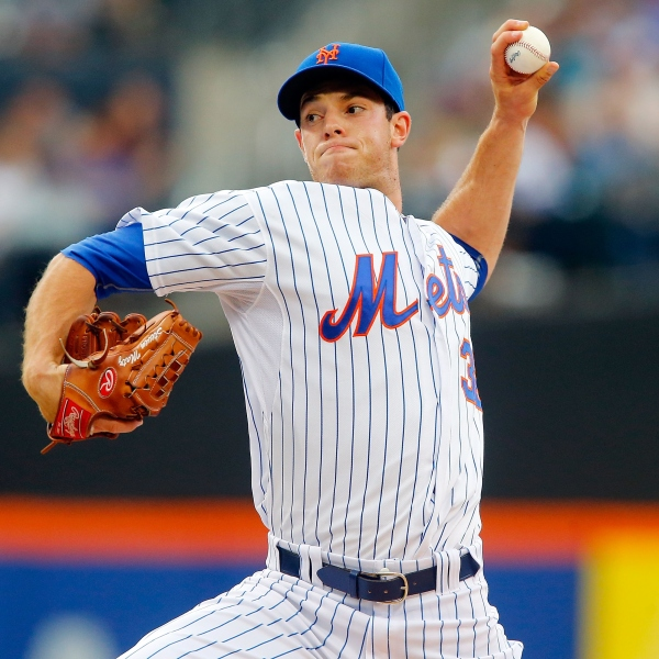 Matz has record day at plate in debut, Mets beat Reds 7-2