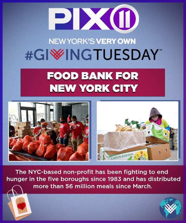 Giving Tuesday: Food Bank for NYC