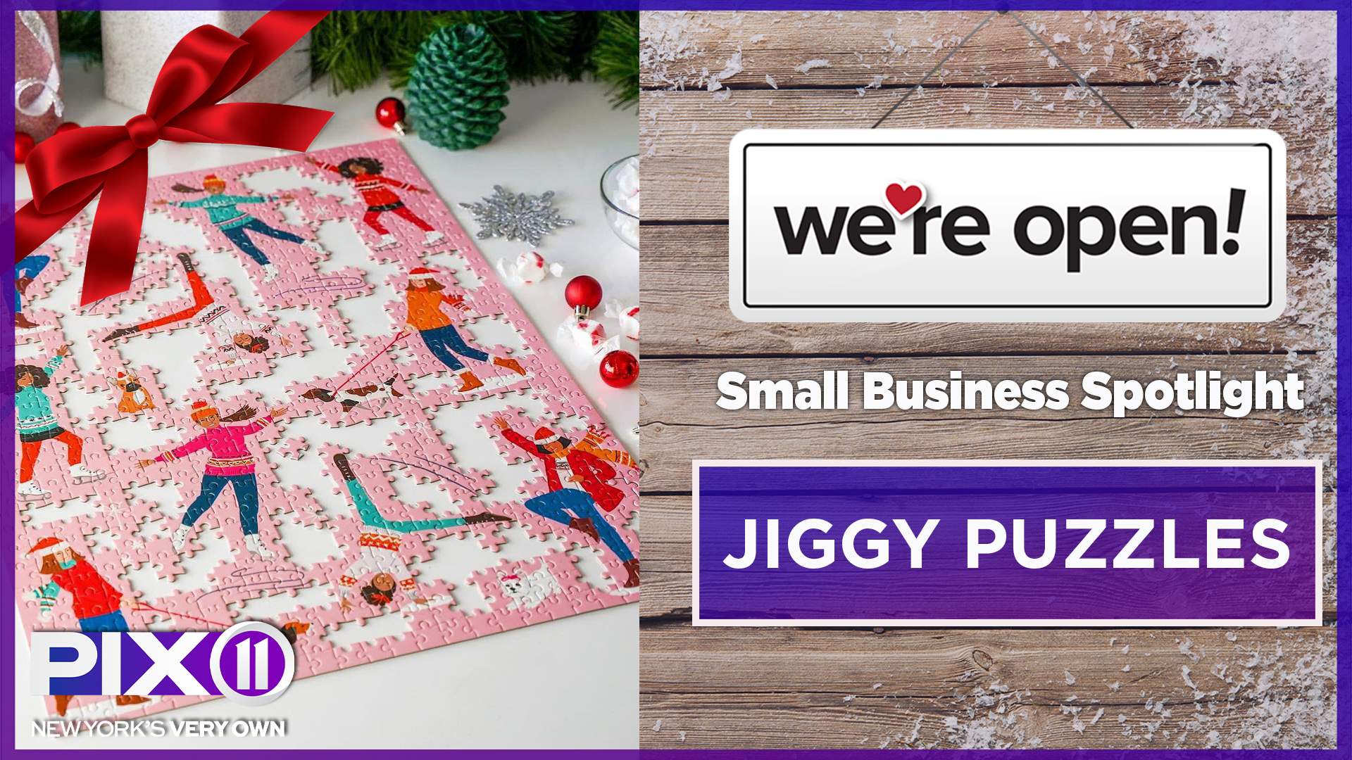 Small biz spotlight: Jiggy Puzzles