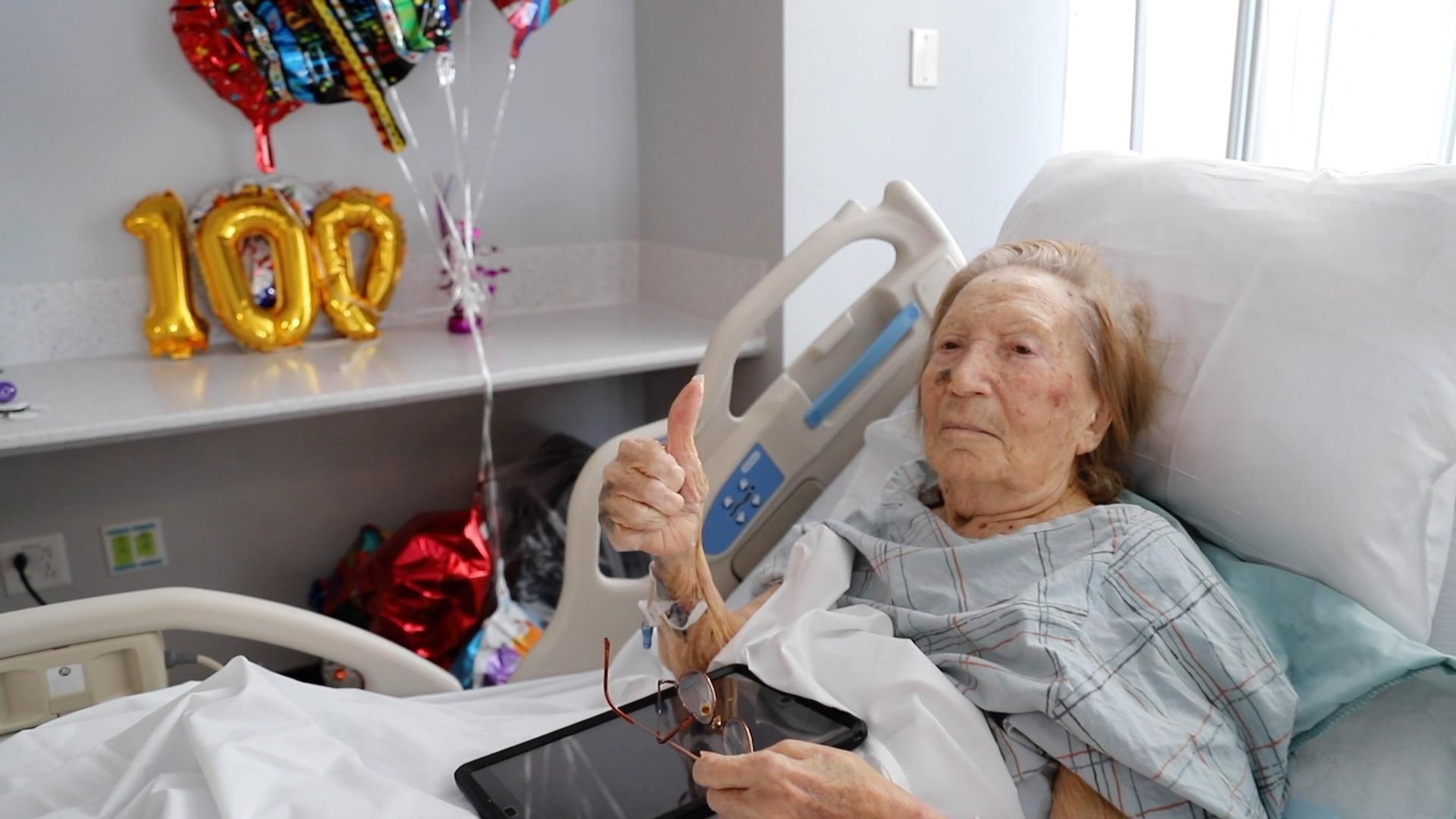 100 year old COVID survivor