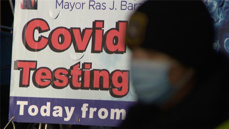 Newark COVID testing site