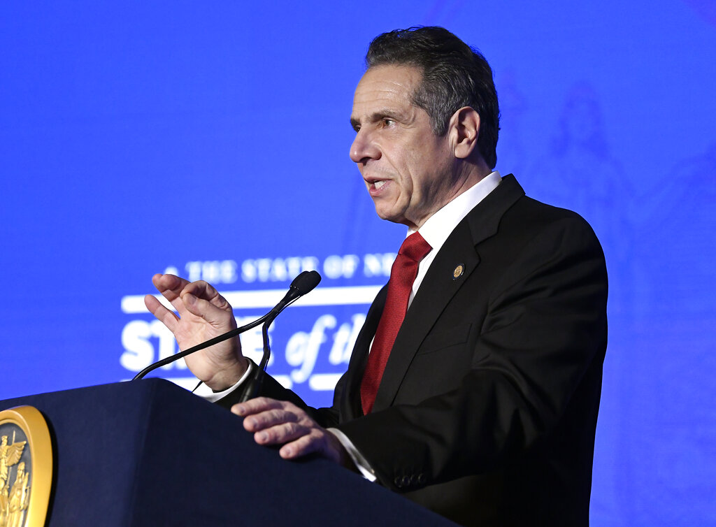 new york state of the state cuomo