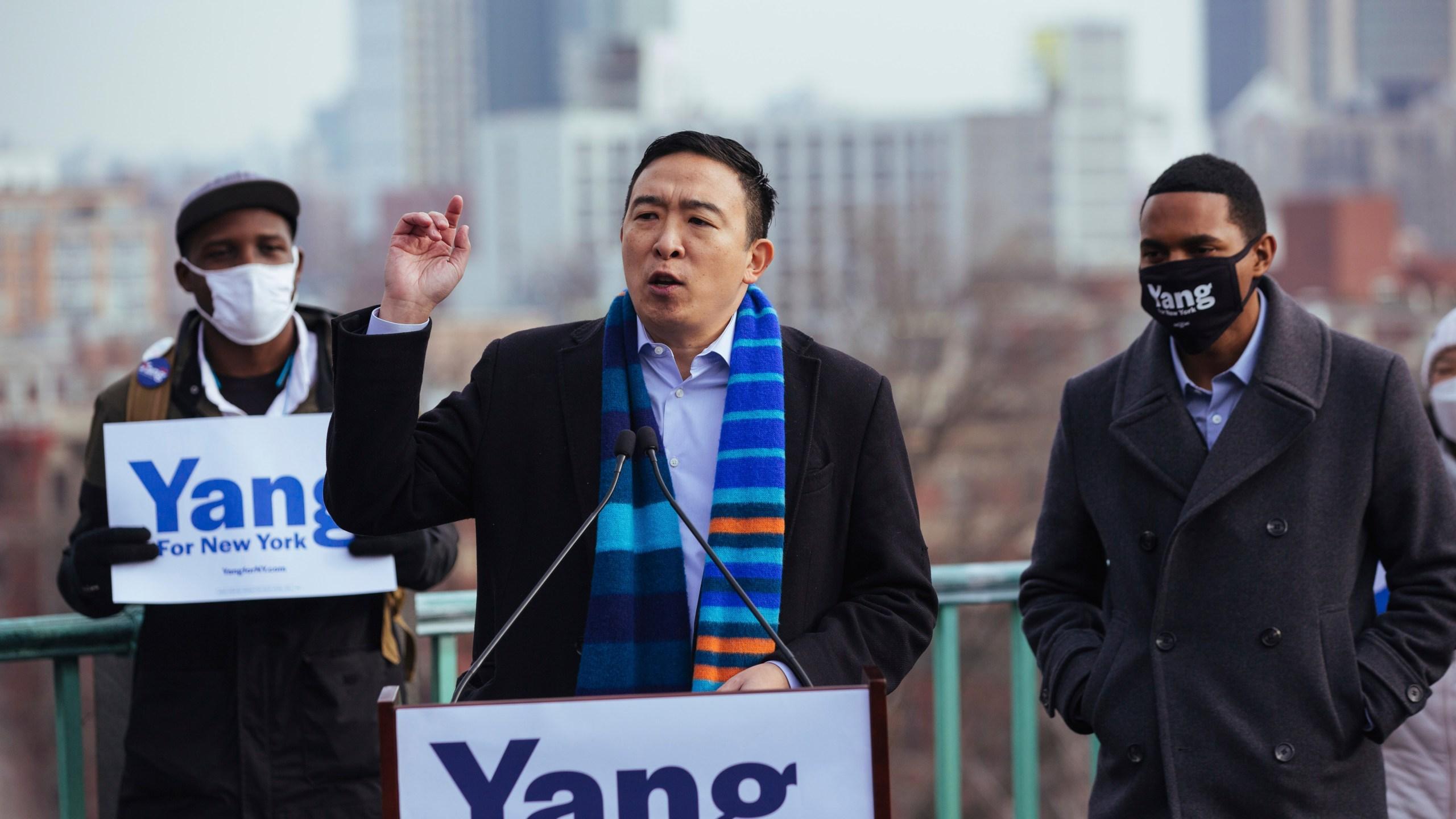NYC Mayor's Race Yang