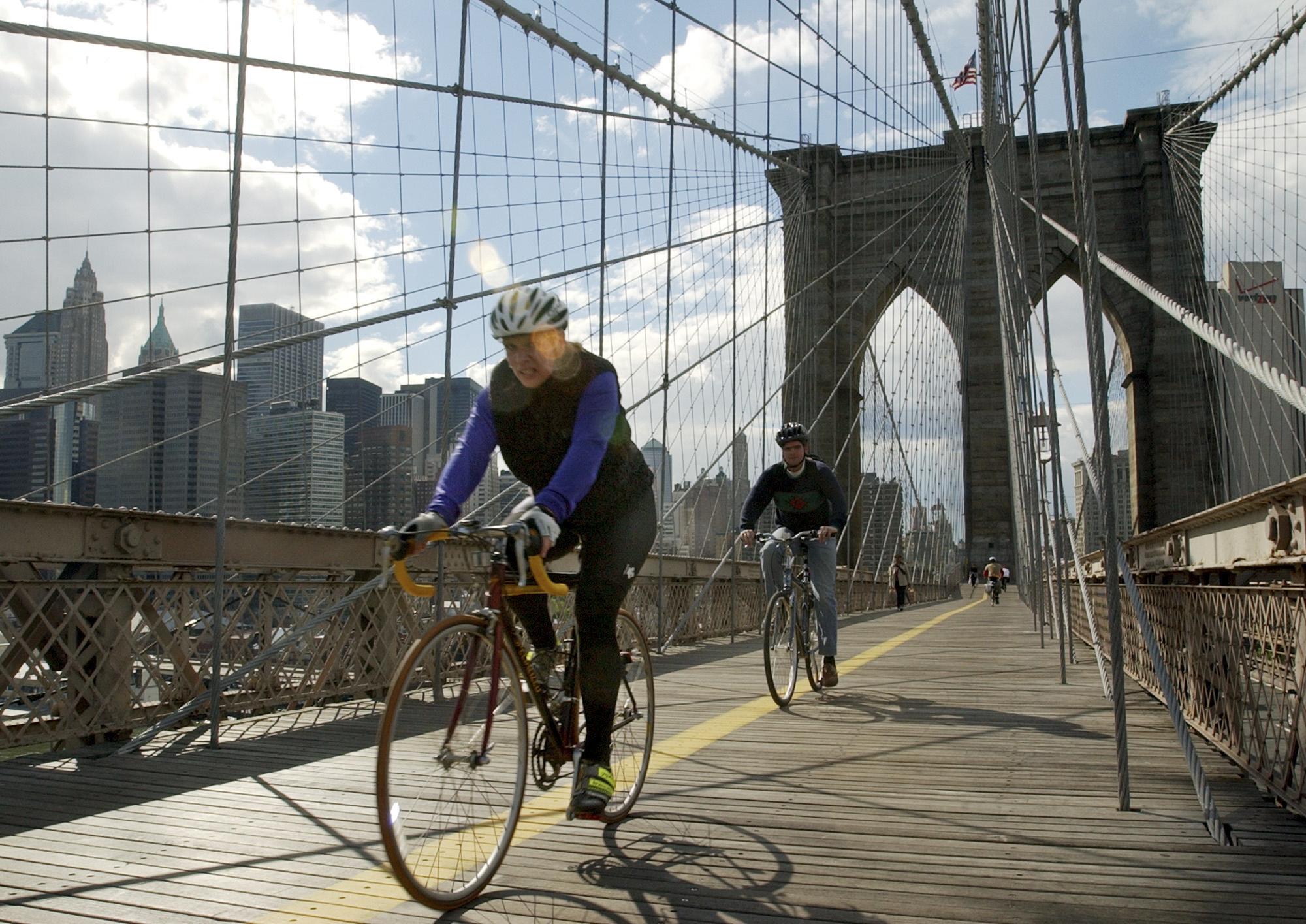 NYC Bridges-Bicycle Lanes