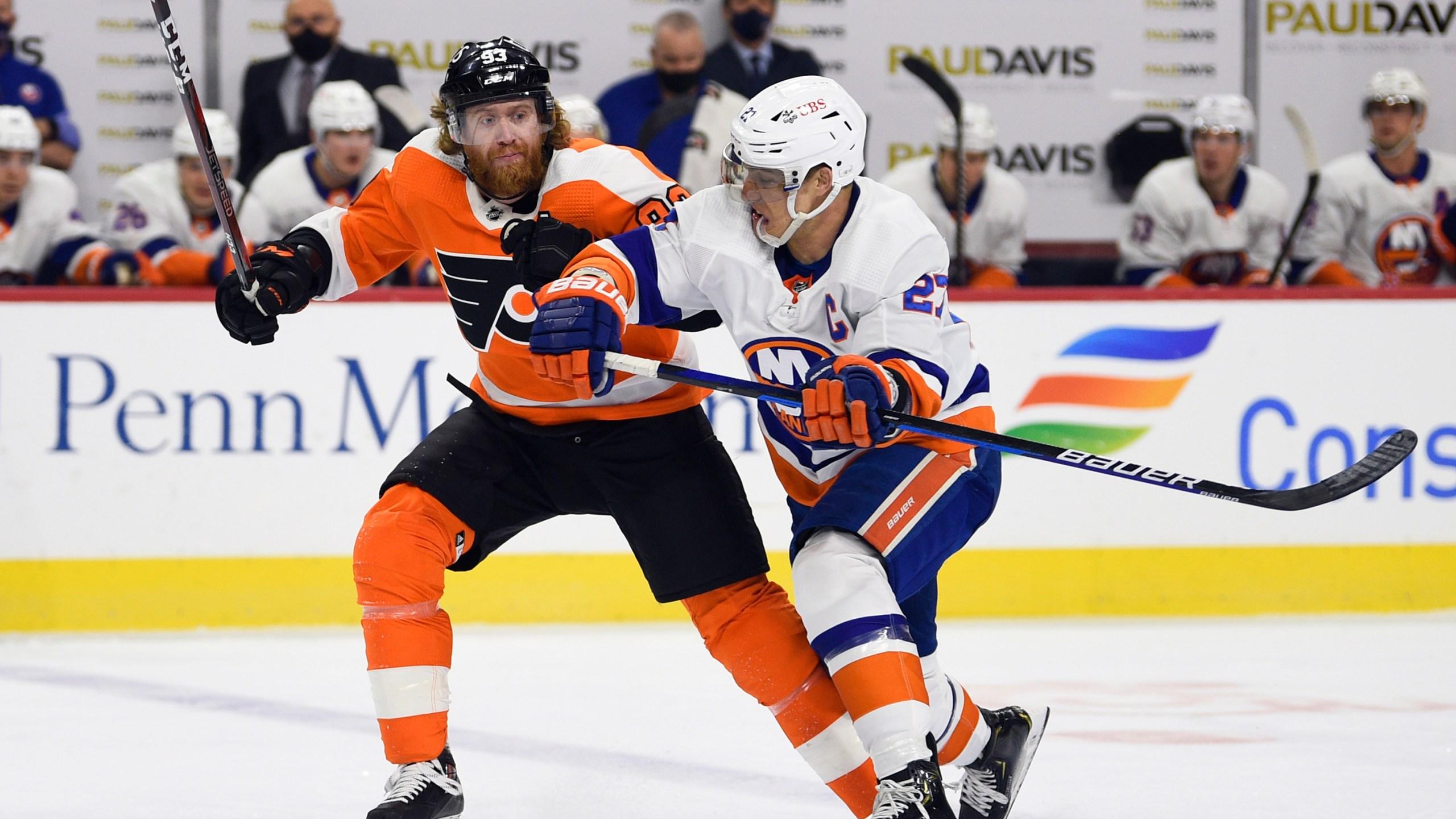 Islanders Flyers Hockey