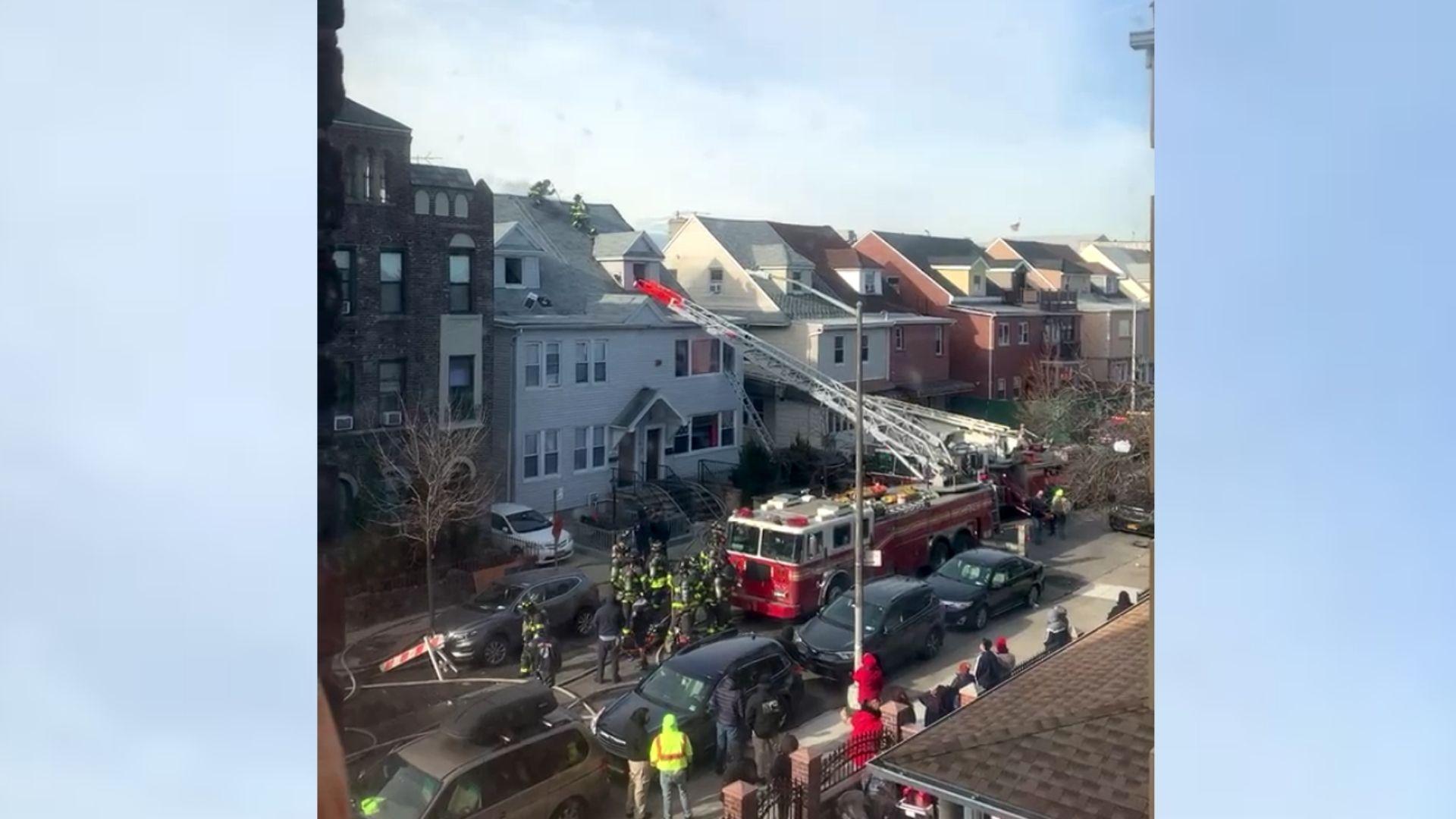 Bensonhurst house fire