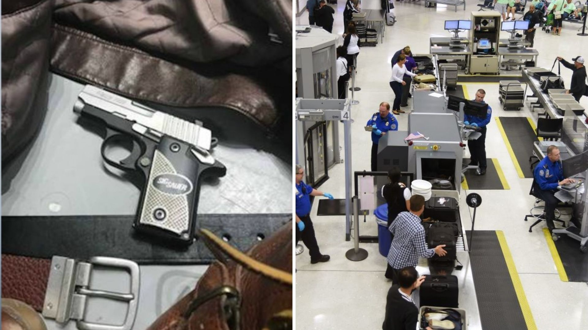 Guns found more often at airpot security in 2020: TSA