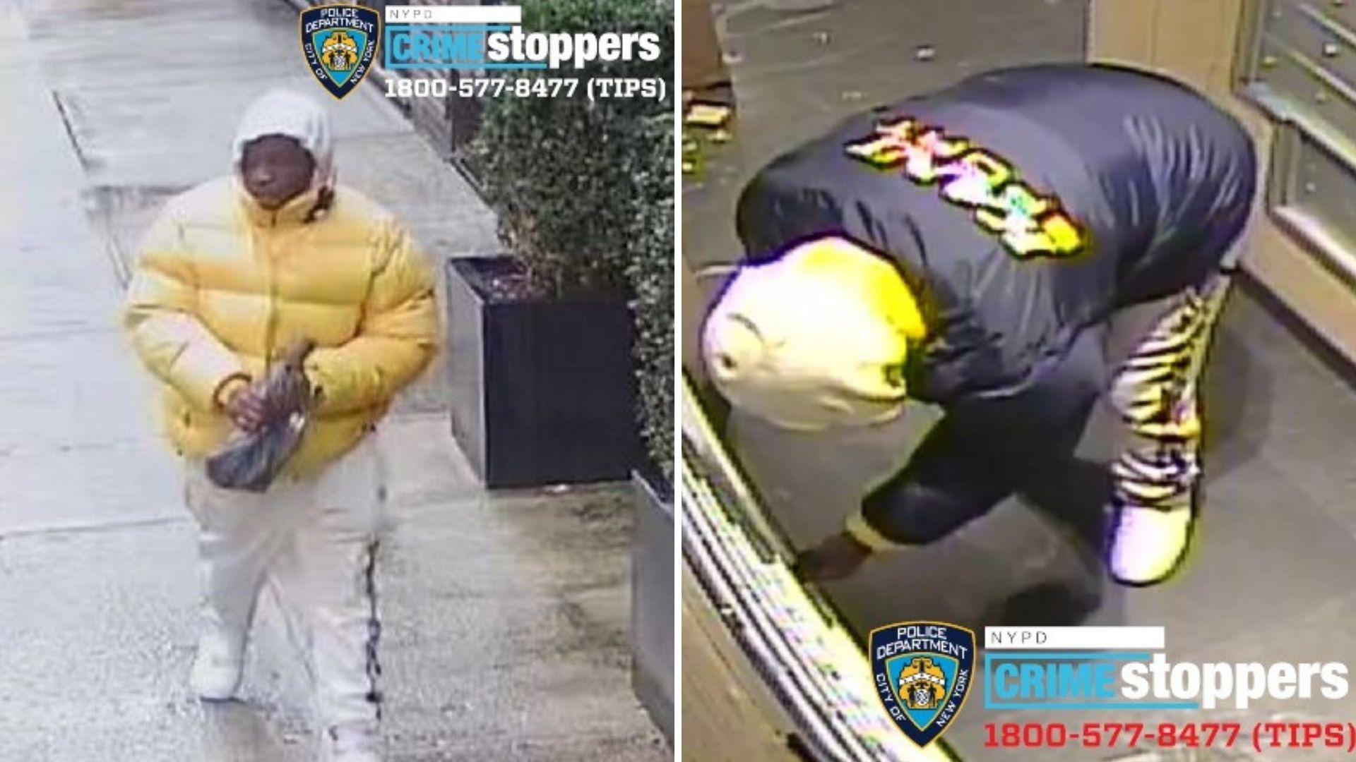 Man rapes, robs Manhattan woman