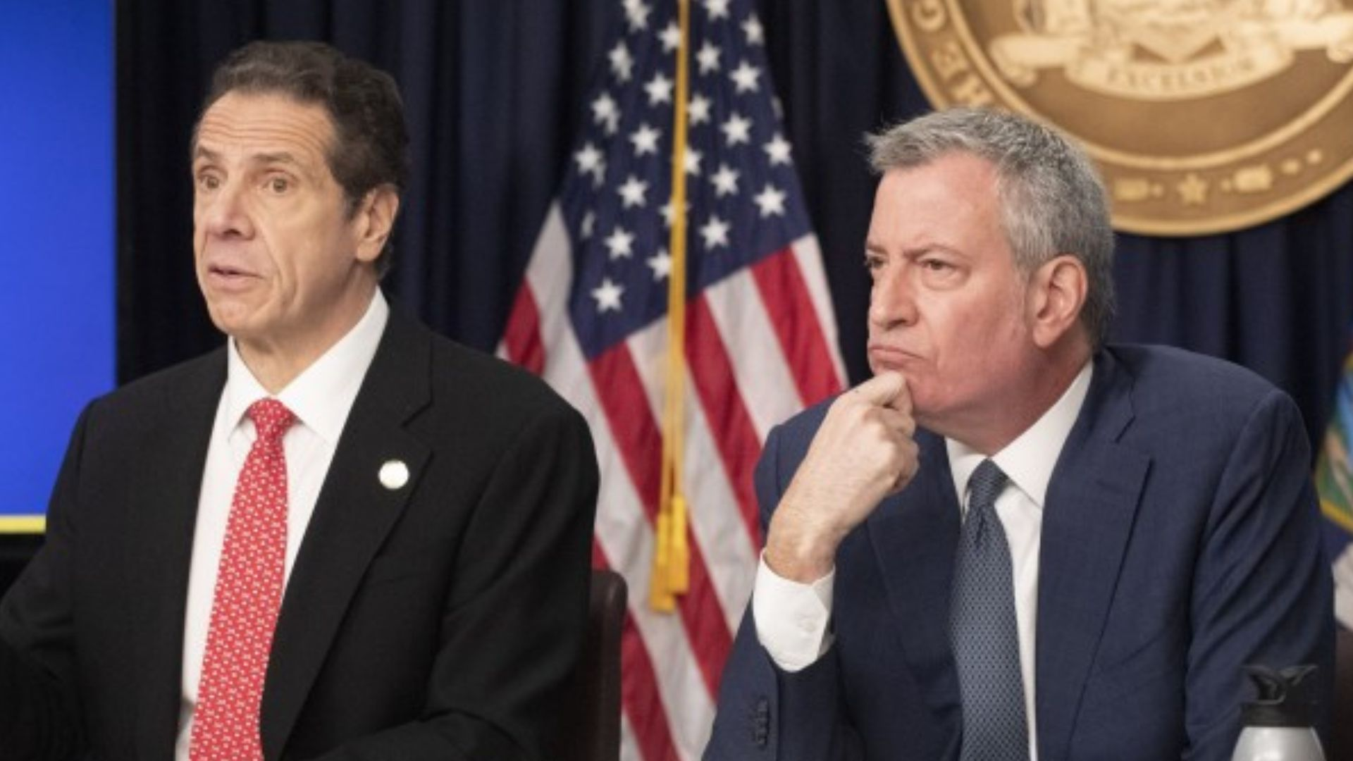 Gov. Cuomo and Mayor de Blasio