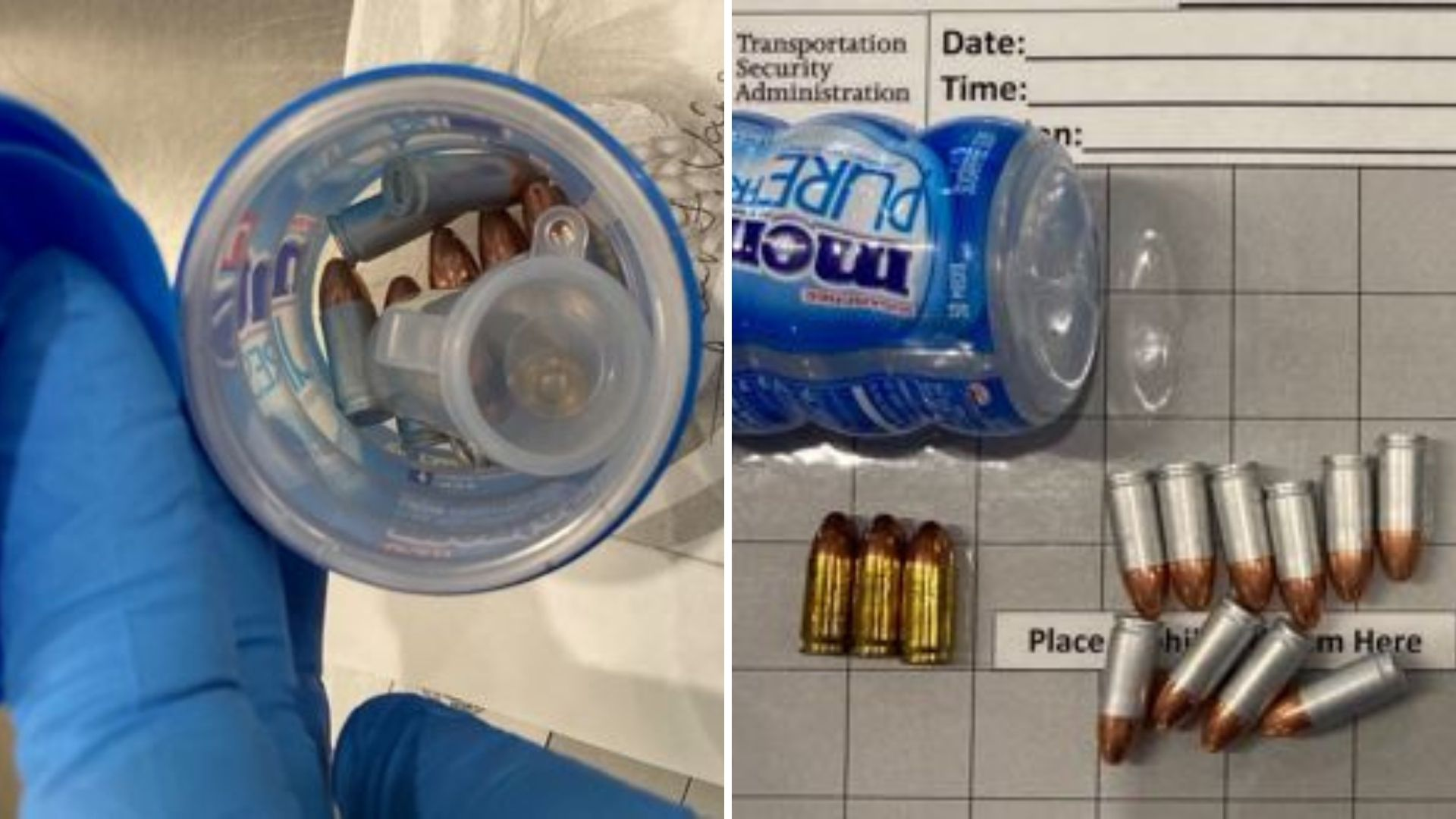 TSA finds bullets in gum container at LaGuardia