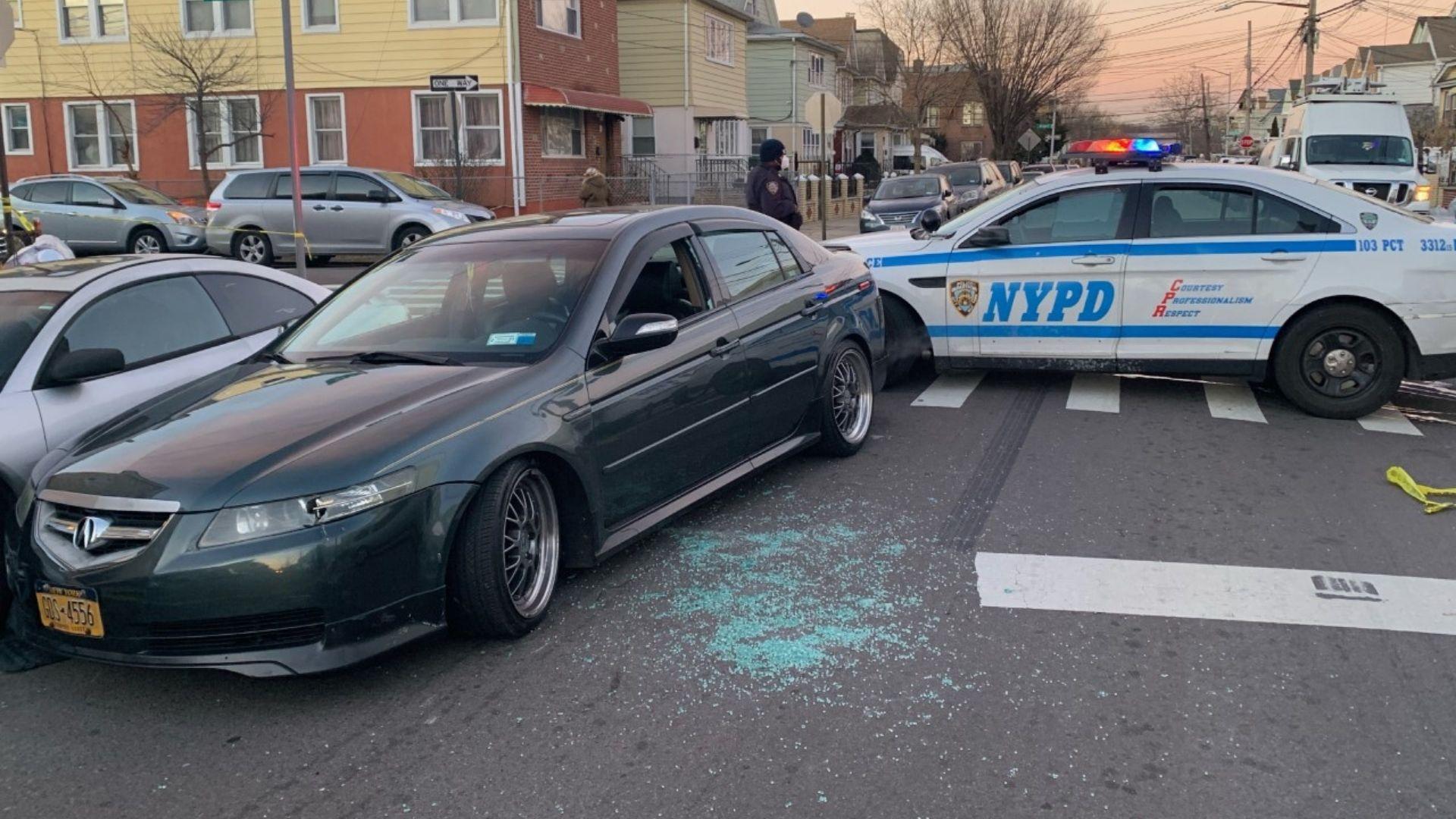 Officer shoots man after stolen car pursuit in Queens