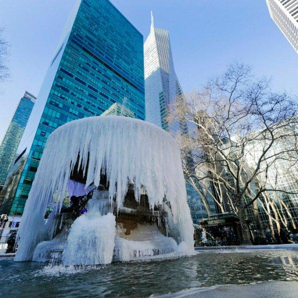 snow ice cold new york city weather