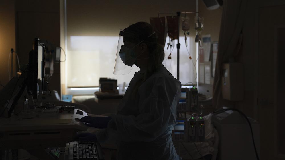 Virus Outbreak US Surge hospital COVID-19