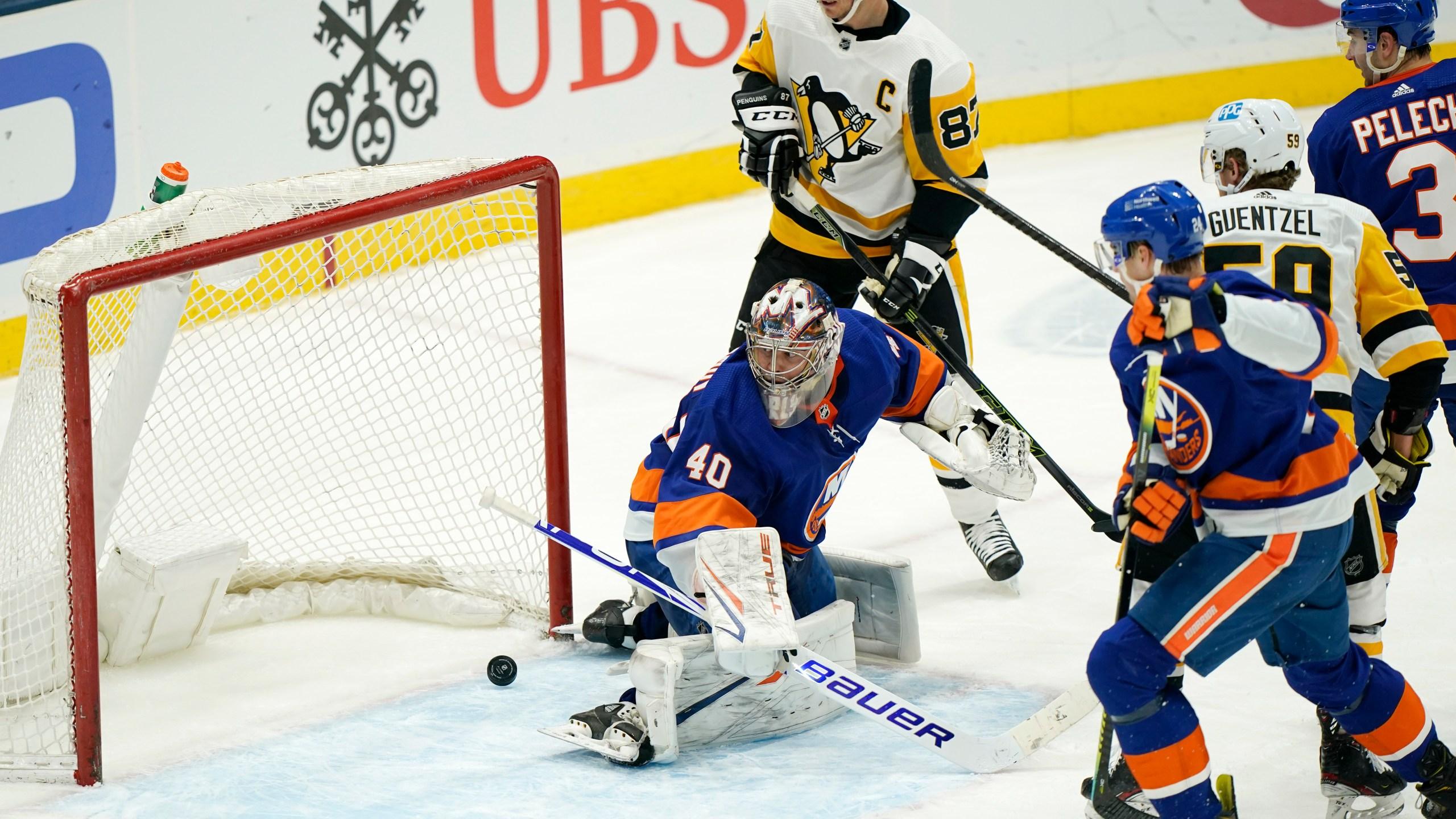 Sidney Crosby, Semyon Varlamov