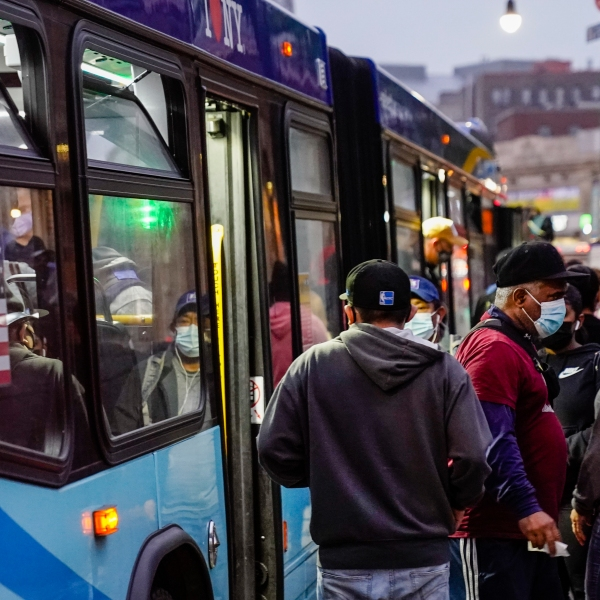 NY--Transit-New York Voices