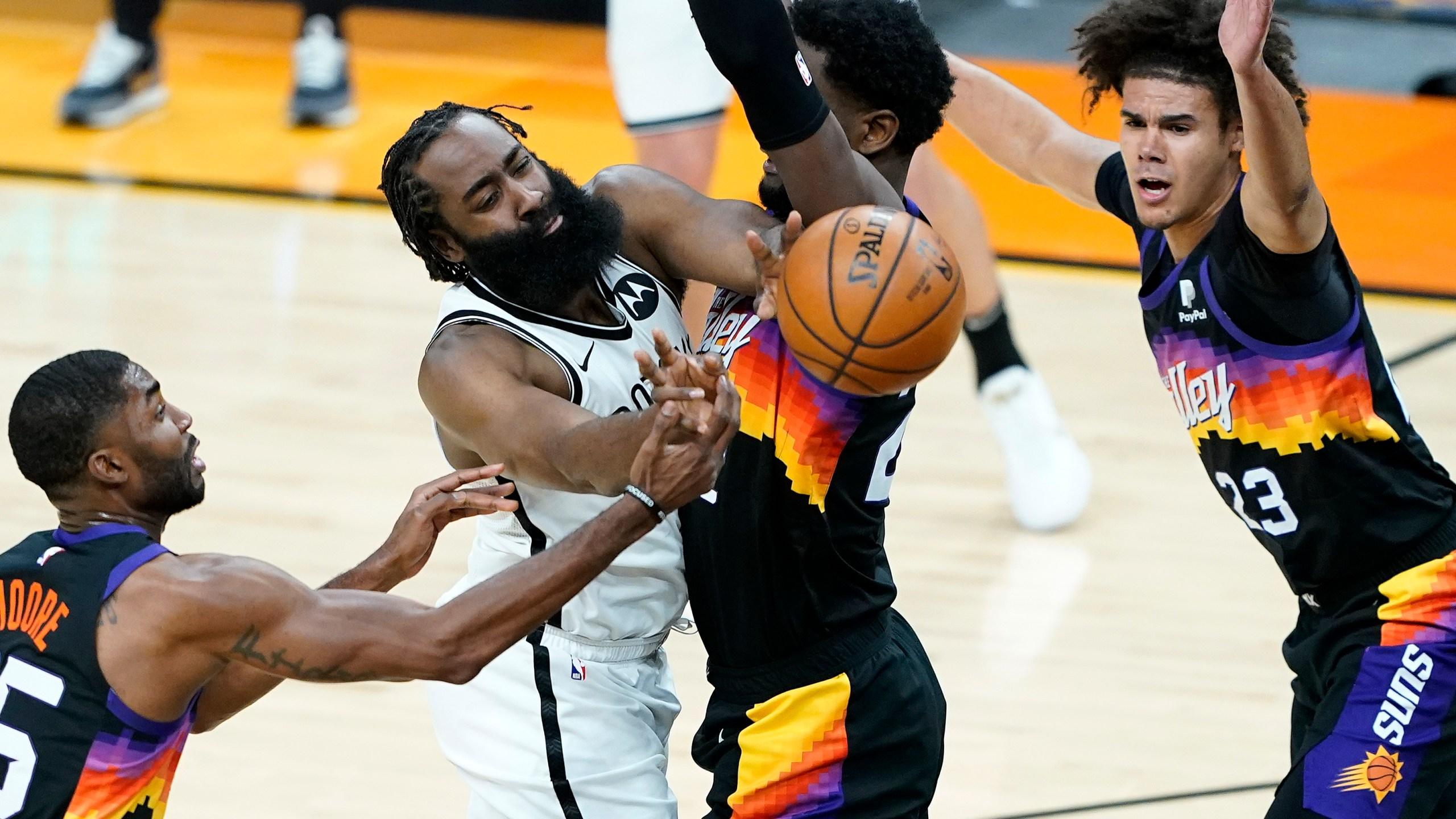 Nets Suns Basketball