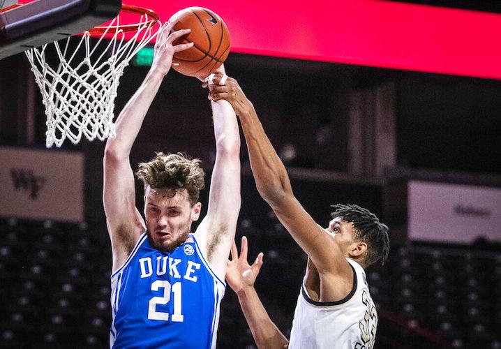 Duke Wake Forest Basketball