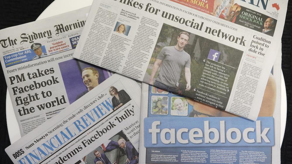 Australia Facebook News