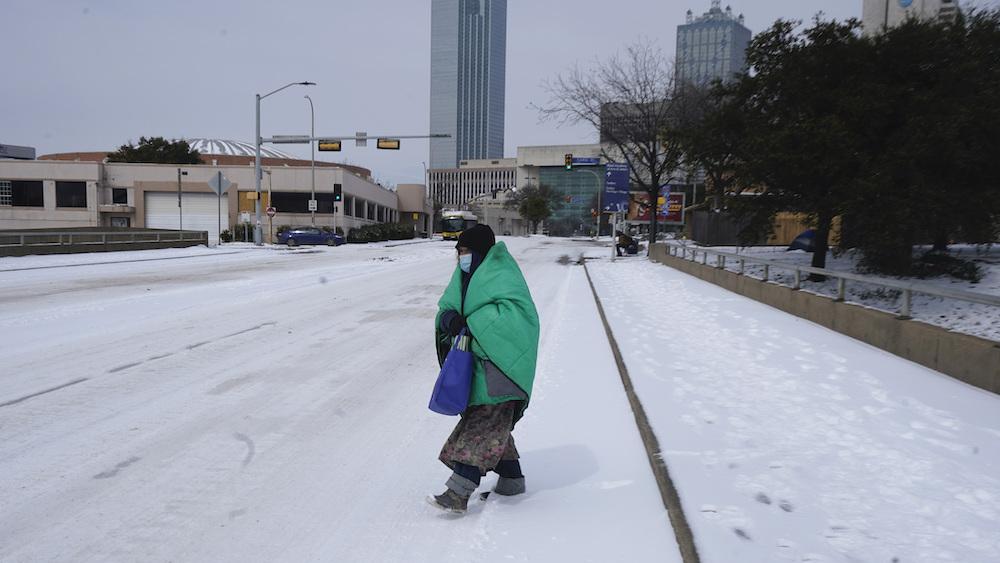 Winter Weather Texas Deepfreeze snow
