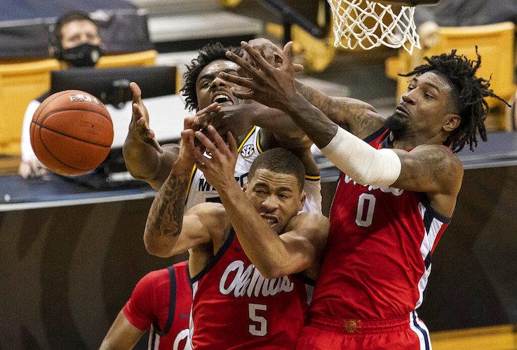 APTOPIX Mississippi Missouri Basketball