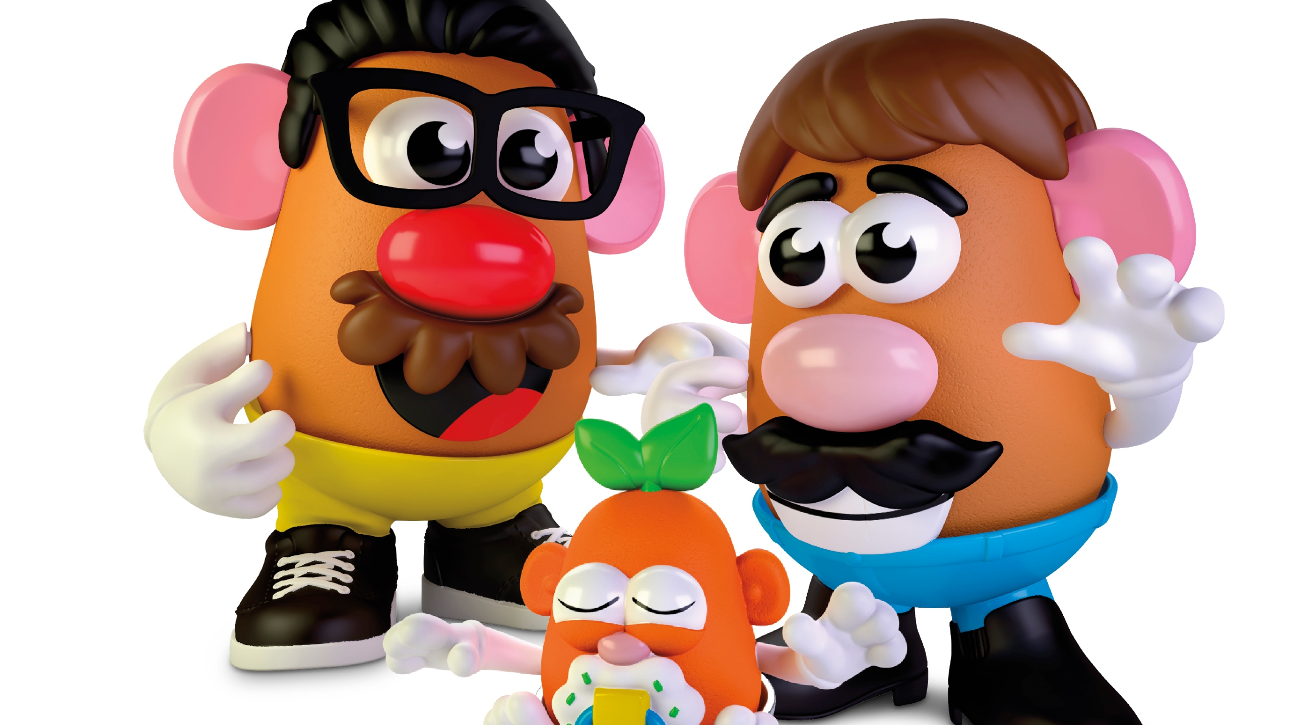 Mr Potato Head Rebranding