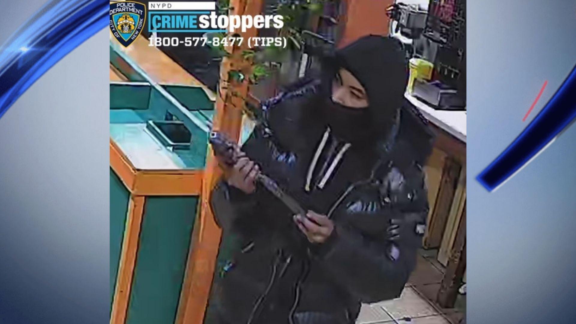 Bronx armed robbery, shooting