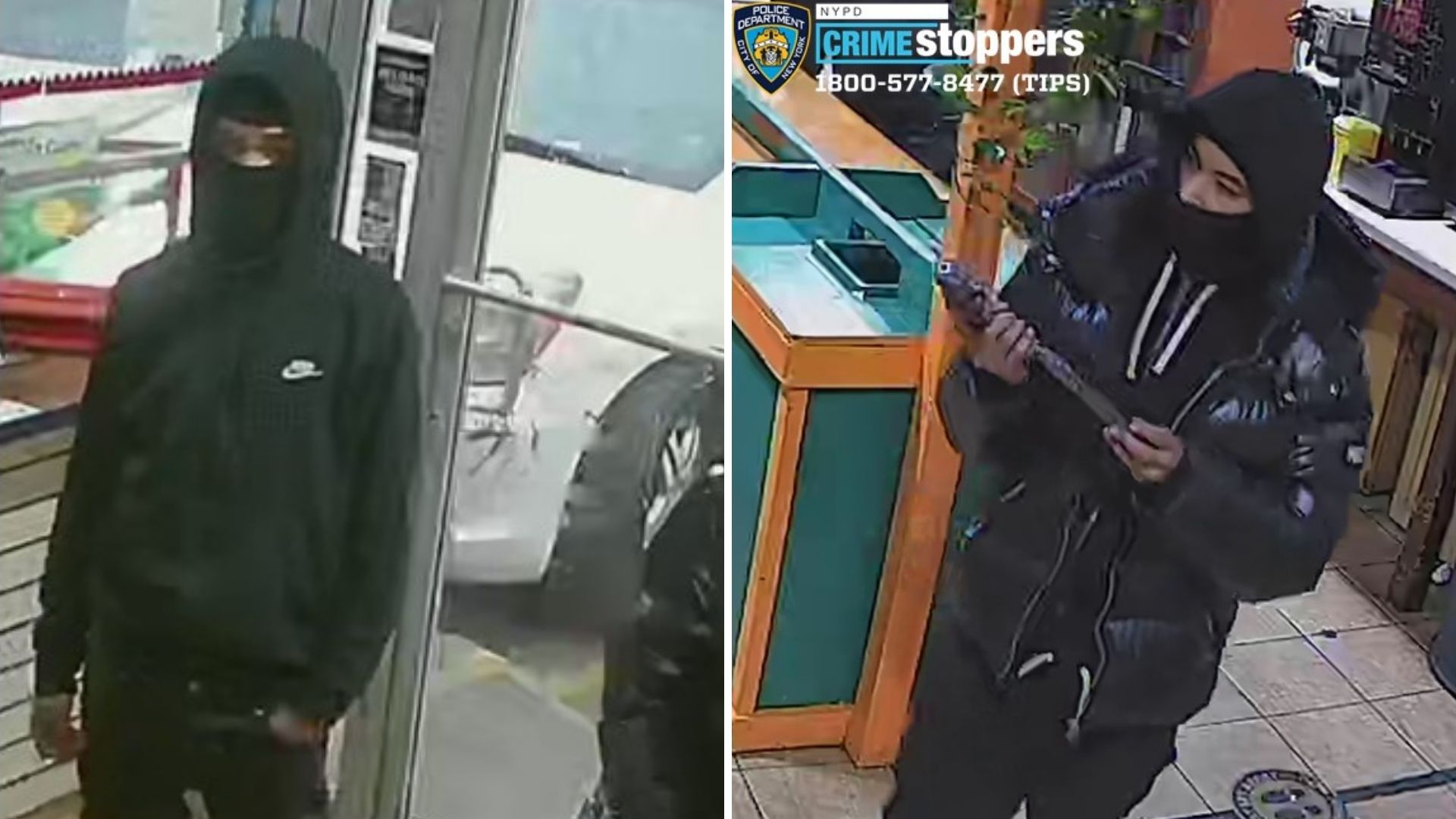 Bronx gas station robbery, shooting