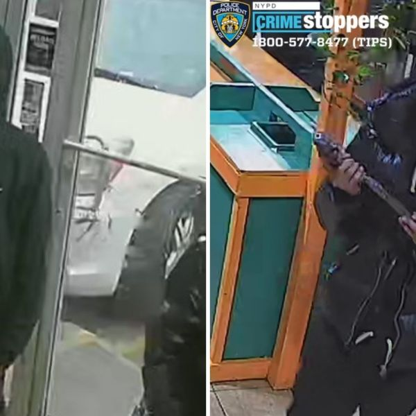 Bronx gas station robbery, shooting