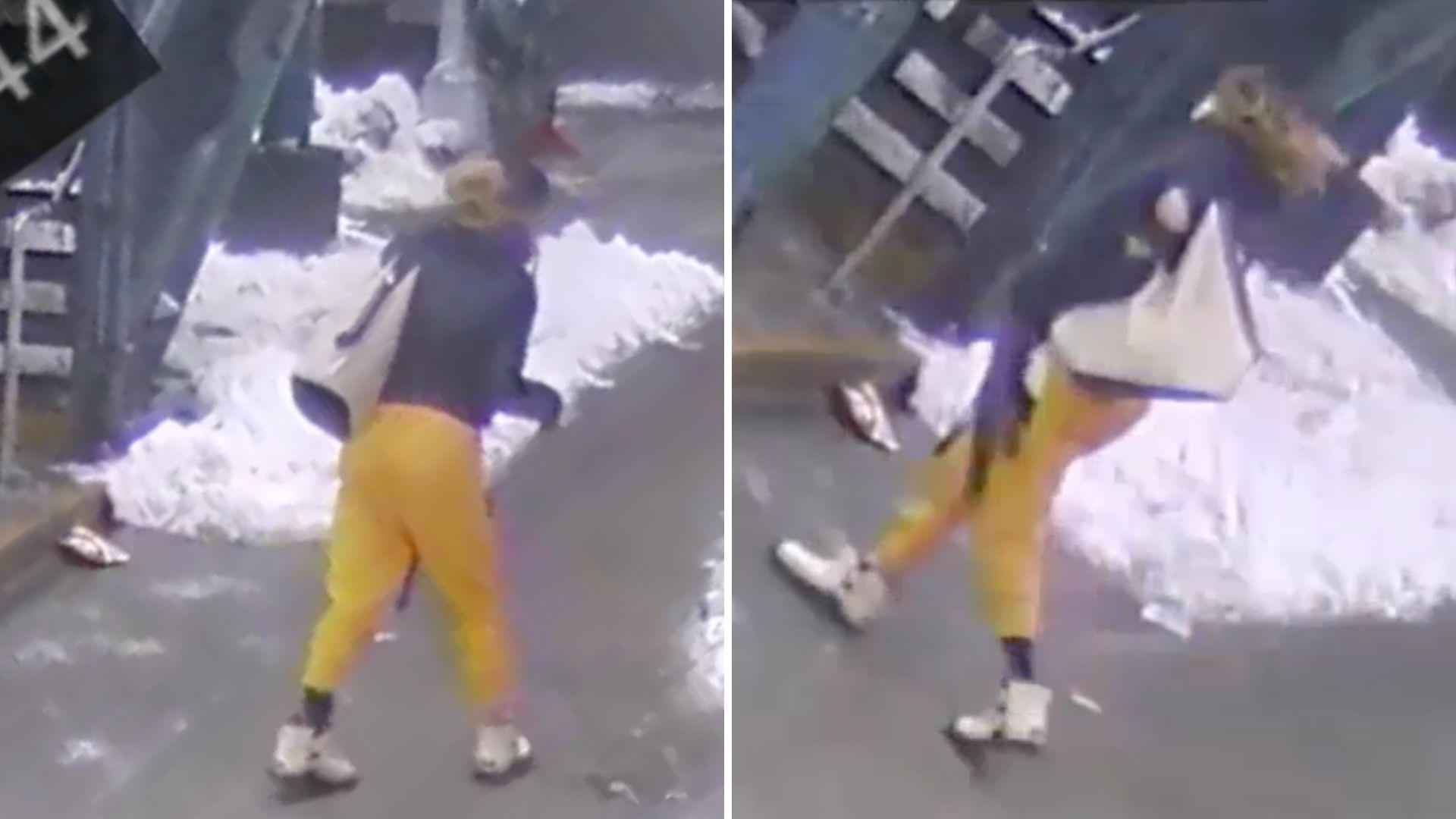 Woman pushed onto Bronx subway tracks