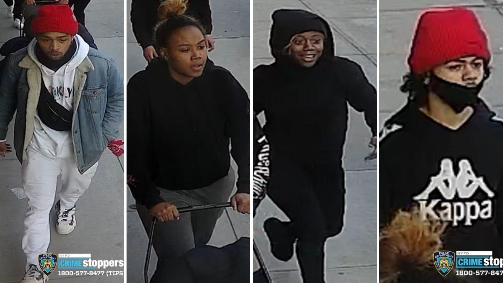 Bronx violent supermarket robbery