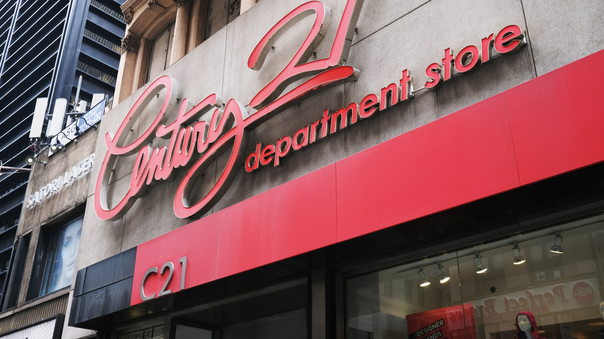 Discount Department Store Century 21 Files For Bankruptcy