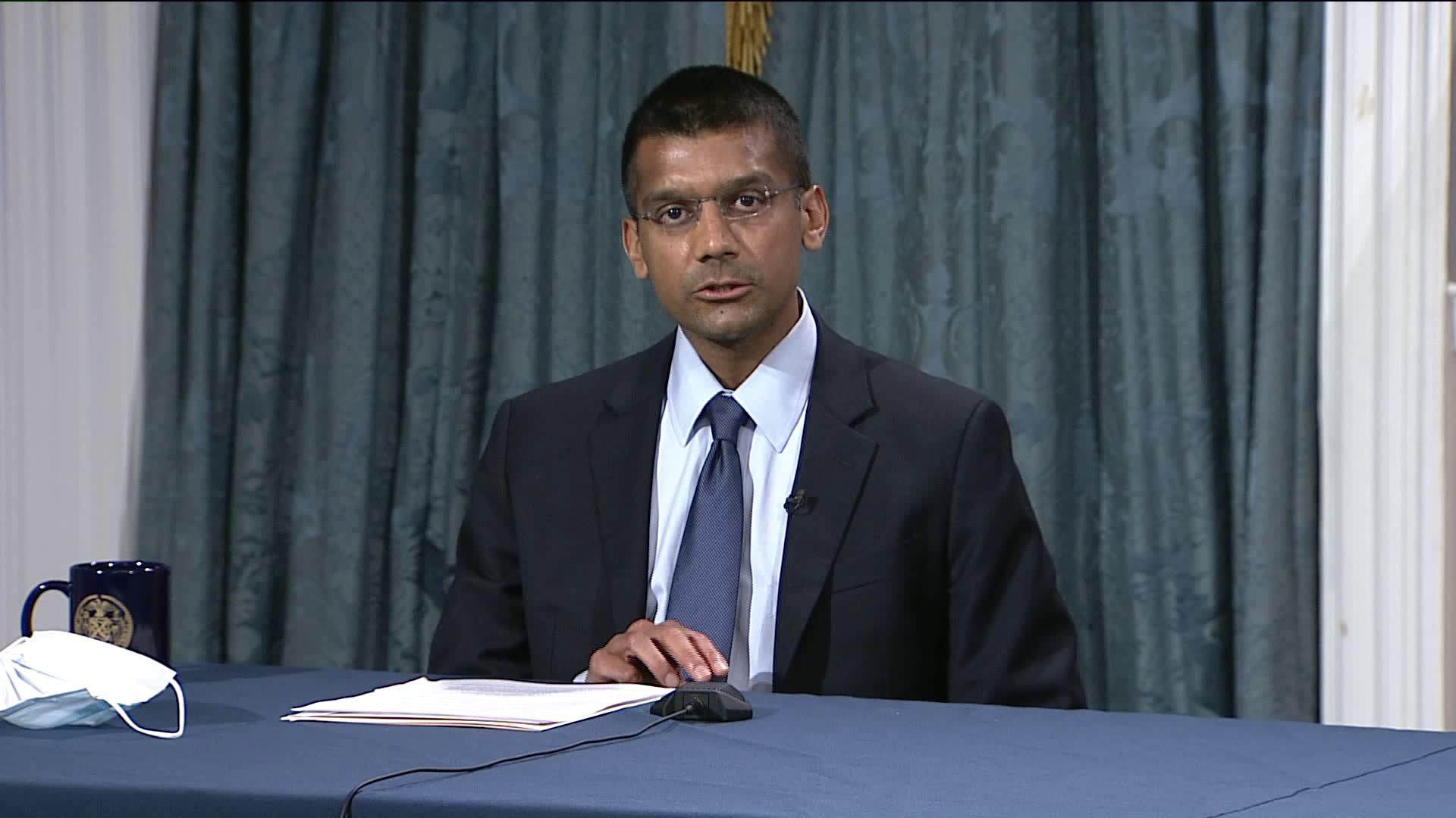 Dr. Dave A. Chokshi  NYC Health Commissioner