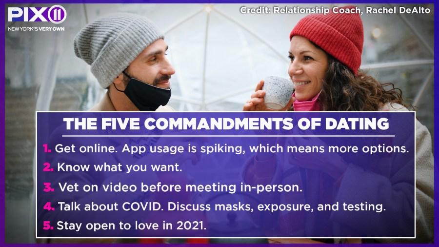 five commandments of dating