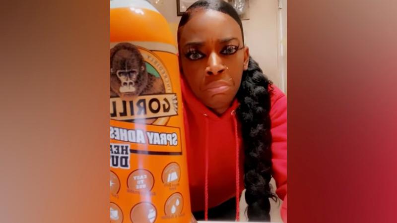 Gorilla Glue responds to woman's viral saga