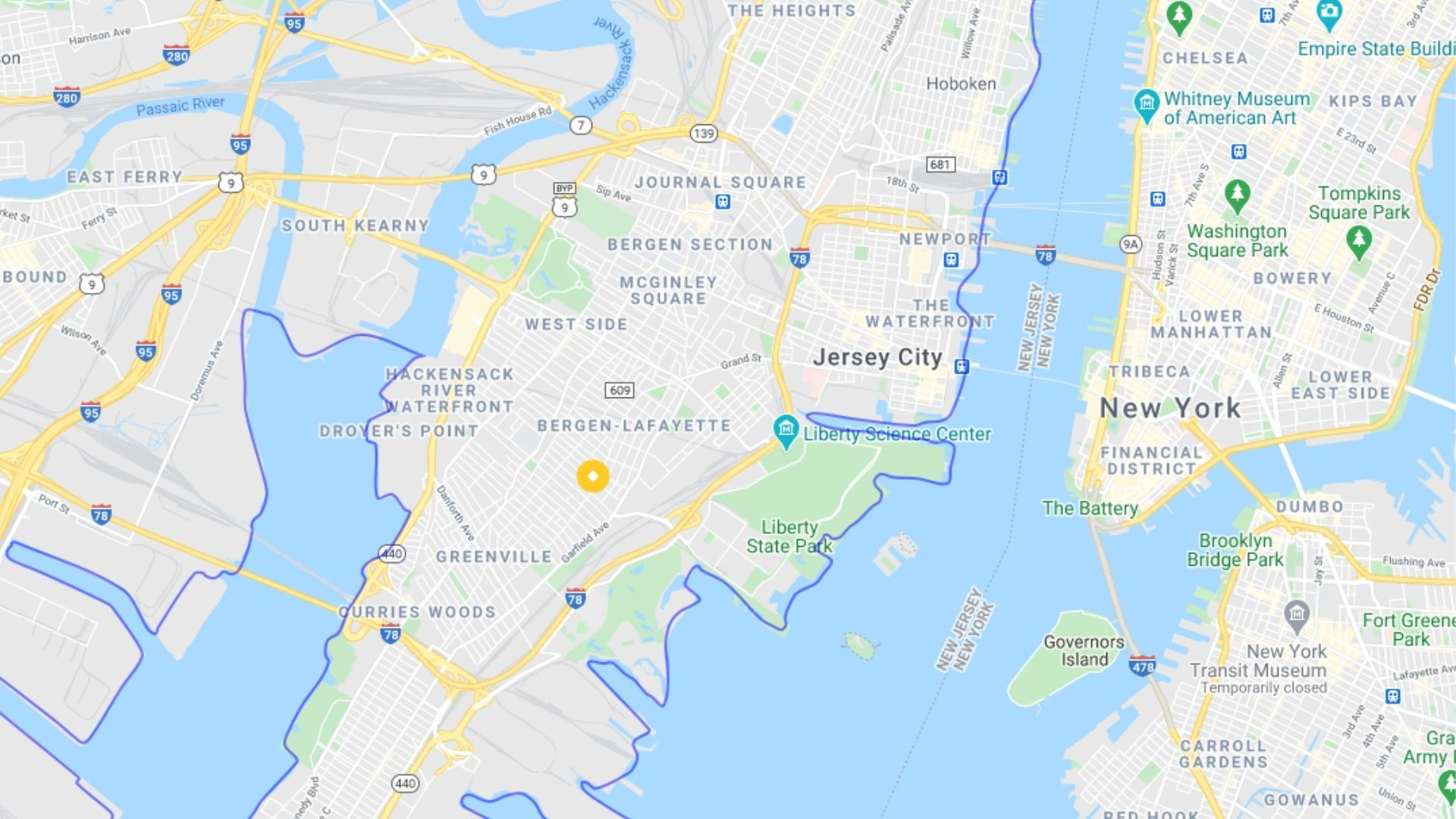 Jersey City power outages