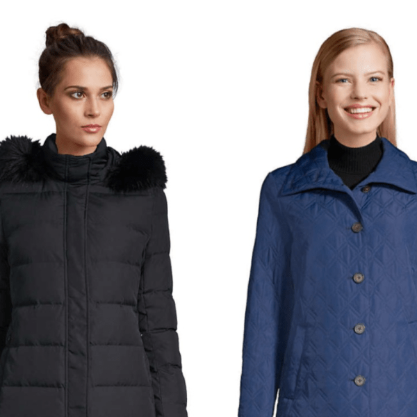 Lands' End winter outwear is on sale from $7.99