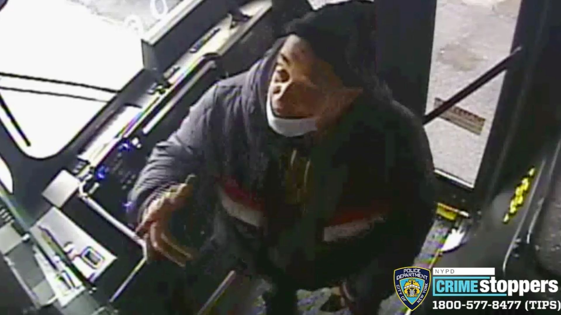 Man throws hot coffee in MTA bus driver's face