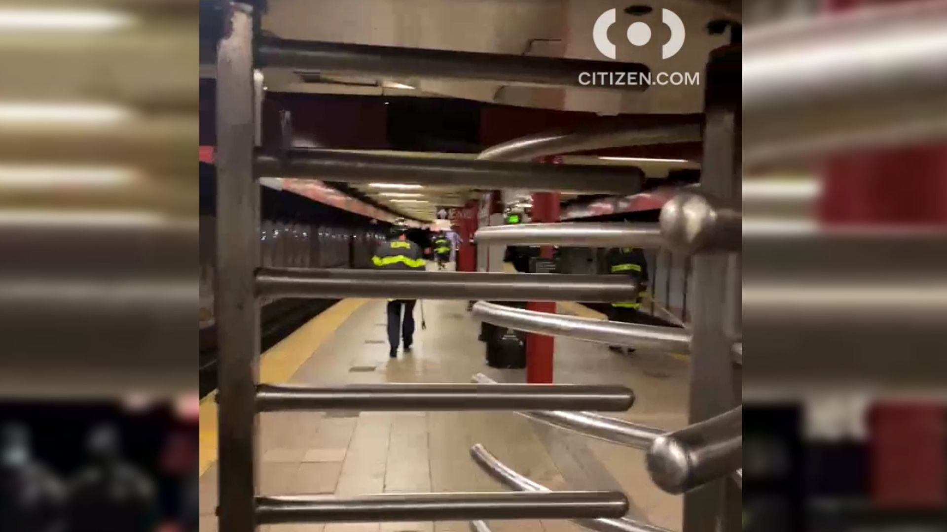 Person struck by subway at 110th Street